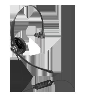 Headsets - PRO MS XL mono NC USB